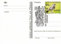 Austria Postal Stationary W/Bird P/m Neukirchen Bei Altmünster 1993 Freiwillige Feuerwehr (SKO10-2A) - Pompieri