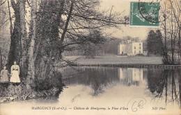 CPA 95 MARGENCY CHATEAU DE MONTGARNY LA PIECE D EAU 1911 - Other Municipalities