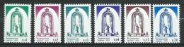 Tajikistan 2003.Ismail Somoni Monuments.Sculptures, Definitives, 6 V MNH ** - Tadjikistan