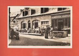 * CPSM Photo..dépt 22..ILE De BREHAT : Une Rue Avec Café Restaurant Et Alimentation Générale..Scan A   : Voir  2 Scans - Ile De Bréhat