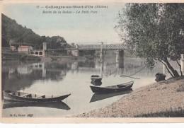 G , Cp , 69 , COLLONGES-au-MONT-d'OR , Bords De La Saône , Le Petit Port - France