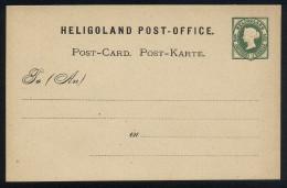 A4147) AD Helgoland Karte Mi.P1 Ungebraucht Unused