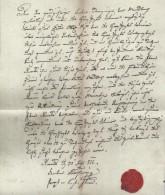 DOK29 Sehr Altes Dokument Aus 1822  SIEHE ABBILDUNG - Historische Dokumente