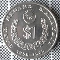 MONEDA DE 1 RINGGIT DE MALASIA DE 1969 - Malaysie