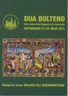 Esperanto 2nd Bulletin Congress 2011 Copenhagen - Dua Bulteno Universala Kongresa 2011 Kopenhago - Oude Boeken