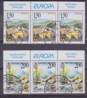 Europa Cept 1999 Bosnia/Herz. Serbia Strip 3x2v Used  (31943) - 1999