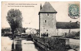 PEYRAT-le-CHÂTEAU ( Haute Vienne ) -  La Tour Carrée Et Ses Dépendances - 1906 - France