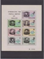 Sealand - Full Sheet - 1970 - Overprinted * * Francis Drake - Vasco Da Gama - Captain Cook - Columbus - Magellan - Christoffel Columbus