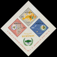 Burundi, 1965, International Cooperation Year, United Nations, MNH, Michel Block 9A - Non Classés