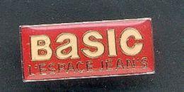 Pin´s - BASIC L'espace Jeans - Banken