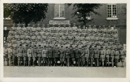 BELLE CARTE PHOTO  ECOLE DE GENDARMERIE - CLASSE PROMO -  BATIMENT CASTRIES - Police - Gendarmerie