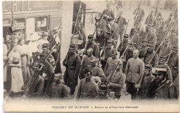 Visions De Guerre - Convoi De Prisonniers  Allemands    (89436) - Guerre 1914-18