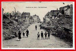59 - CAMBRAI -- En 1919 - Rue Sadi Carnot - Cambrai