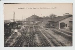 NARBONNE - AUDE - LA GARE - VUE INTERIEURE - AIGUILLES - Narbonne