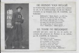 CPA Cirque Circus Cirk Non Circulé Marcheurs Globe Trotters BELGIQUE Belgie Sabots - Circus