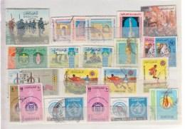 Iraq Lot De 26 Timbres Différents De 1968 - Iraq