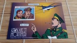 Blake Et Mortimer Timbre Dans Encart Papier - Philabédés (comics)