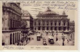 PARIS - L'Obera, Autobus Mercedes - Transport Urbain En Surface