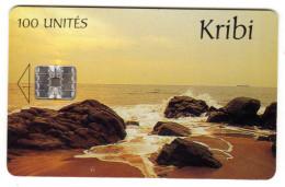 CAMEROUN REF MV CARDS CAM-40 KRIBI - Cameroon