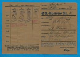 AUSWEIS   N.S.D.A.P - 1939-45
