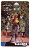 BURKINA FASO REF MV CARDS BKF-31 KADIOGO - Burkina Faso