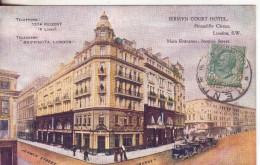 42-Londra-Pccadilly Circus-Inghilterra-Gran Bretagna-Regno Unitov.1913 X Giarre-Catania-Sicilia - Piccadilly Circus