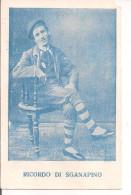 Sganapino Maschera Bolognese,formato Cartolina Cm.14x9, Non Viaggiata, - Teatro, Travestimenti & Mascheramenti