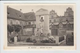 ROUFFACH - HAUT RHIN - MONUMENT AUX MORTS - Rouffach