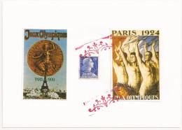 FAUX, Francia, Olimpiadas Paris 1900 Y 1924 - Erinofilia
