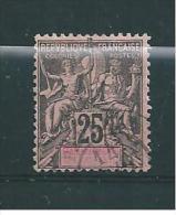 France Colonie Timbres D´Océanie De 1892  N°8  Oblitéré (cote 33€) - Used Stamps