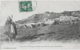 CREUSE - GARDIENNE DE MOUTON - SUPERBE - 1909 - Unclassified