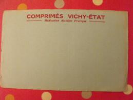 Buvard Comprimés Vichy-état. Recto-verso. Vers 1950 - Produits Pharmaceutiques
