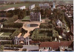 ECQUEVILLY: Le Château - Vue Aérienne - France