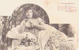 FEMME       36        Grasse Matinée ( Marcel Houjan ) - Silhouette - Scissor-type