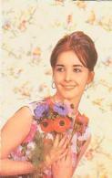 FEMME       48        ( Femme Aux Fleurs ) - Silhouette - Scissor-type