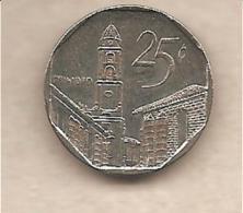 Cuba - Moneta Circolata Da 25 Centesimi - 2006 - Cuba