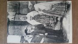 Kerlouan. Costume De Mariage. Coiffes Costumes Bretons.Hamonic N ° 6048 - Kerlouan