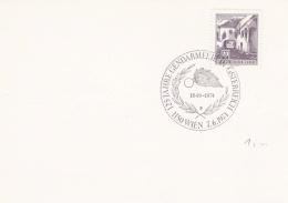 Austria Card P/m Wien 1974 125 Jahre Gendarmerie In Österreich (SKO10-48) - Police - Gendarmerie