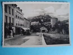 04 - Sisteron - CPSM - Le Fort Pris Du Signavoux - 1954 - Sisteron