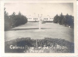 COLONIA PENAL SANTA ROSA DEL TOAY PROVINCIA DE LA PAMPA AÑO 1946 FOTOGRAFIA ORIGINAL CARCEL CARCELES PRISON PRISONS PENI - Places