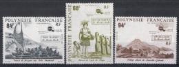 POLY-55 - POLYNESIE N° 379/81 Neufs** - Französisch-Polynesien