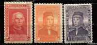 S - Espagne * PA N° 61 - 64 - 65 - En L'honneur De C. Colomb - Neufs