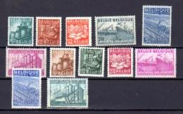 Les Exportations, 761 / 772**, Cote 73 €, - 1948 Export