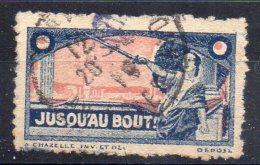 JUSQU'AU  BOUT !  - Oblitéré - Commemorative Labels