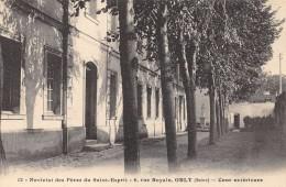 CPA 94 ORLY NOVICIAT DES PERES DE SAINT ESPRIT 6 RUE ROYALE COURS EXTERIEURE - Orly