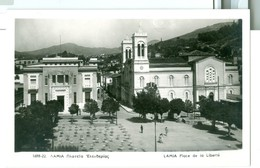 Vintage Greece Lamia Place De La Liberte RP Written But Not Posted - Groenland