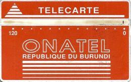 BURUNDI 120 UNITS RED LOGO L & G  BUR-3c CODE:406A  CV$15US  READ DESCRIPTION  !!