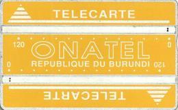 BURUNDI 240 UNITS YELLOW BIG TEXT LOGO L & G  BUR-5a CODE:406A  CV$25US  READ DESCRIPTION  !! - Burundi