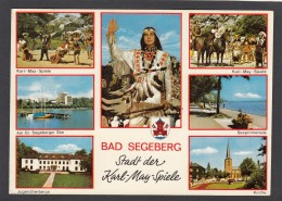 BAD SEGEBERG:STADT DER KARL MAY SPIELE. - Allemagne