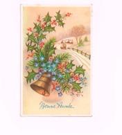 Bonne Année .Envoyée De Marcourt (oblitération Relais) à Hotton - New Year